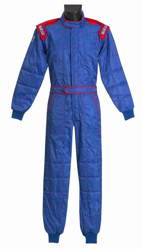 Sparco Rookie Race Suit - Blue