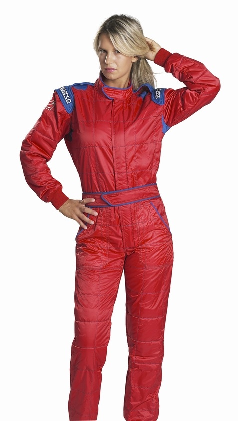 Sparco Rookie Race Suit - Red