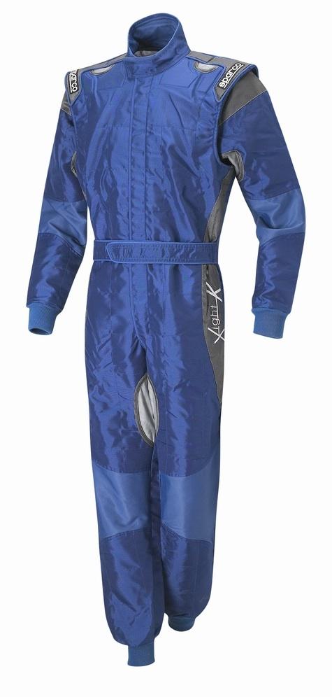 Sparco X-Light Race Suit - Blue