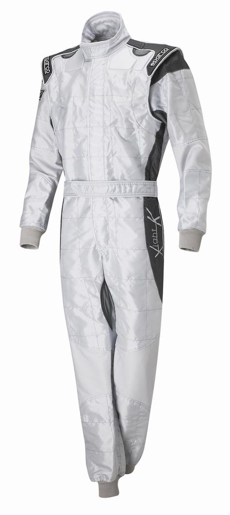Sparco X-Light Race Suit - Silver