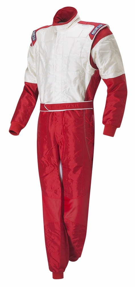 Sparco X-Light Race Suit - Red / Silver