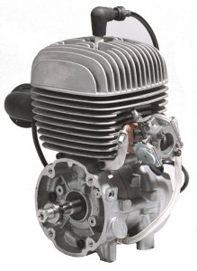 (click picture to enlarge) Yamaha KT100J Engine