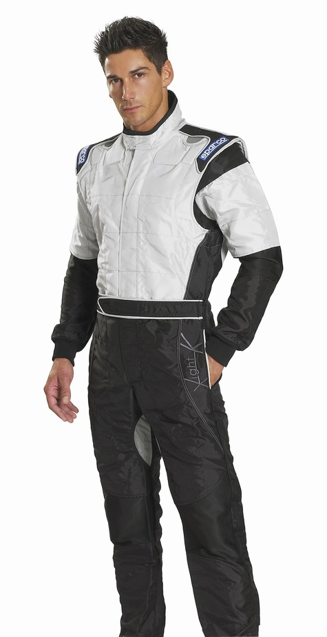 Sparco X-Light Race Suit - Black / Silver