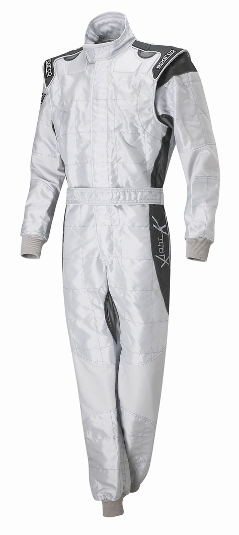 Sparco X-Light Race Suit - Silver