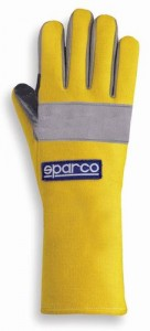 Sparco Super Kart Gloves - Yellow
