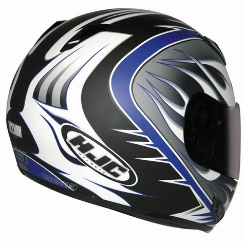 HJC CL15 Helmet - Session MC2 - Rear View