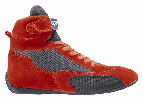 Sparco K-Mid Boot - Red