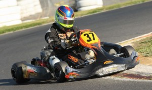 Josh Raneri in his CRG Black Diamond